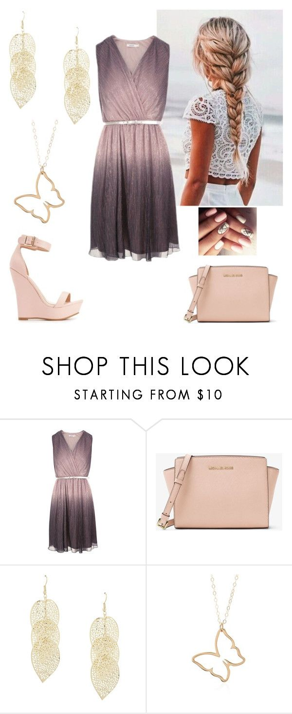 """""""Summer Vibes (kinda out of season)"""" by paoladouka on Polyvore featuring Charlotte Russe and MICHAEL Michael Kors"""