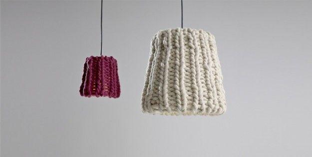 Lampadario tricot