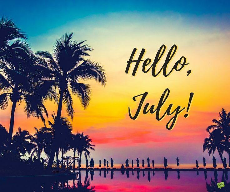 Etonnant Hello July