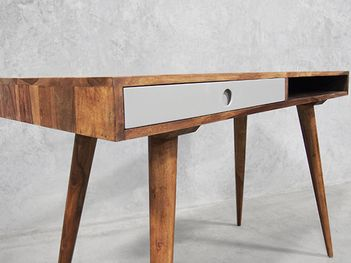 Mid Century Home Office Desk - Nordic Designs