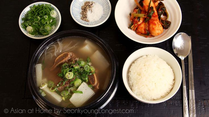 Galbitang is delicious hearty Korean soup! My mom used to make galbitang for special occasions, because galbi, beef short rib is very expensive in Korea!