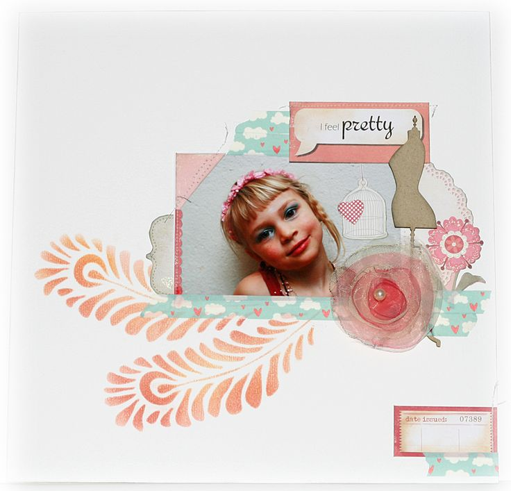 I feel pretty - For the Studio Challenges