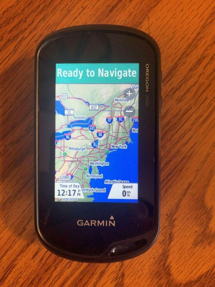 Garmin Oregon 700 GPS with North American Base Maps barely