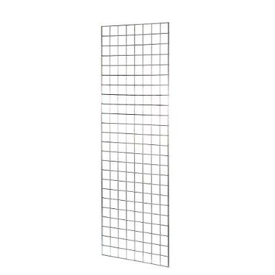 6ft Mesh NEW HEAVY DUTY GRID WALL/ GRIDWALL MESH CHROME DISPLAY PANEL