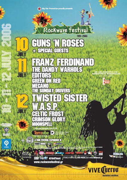 HISTORY | Rockwave Festival  ------11-ΙΟΥΛΙΟΣ 2006 ----ok ----Μy last rockwave