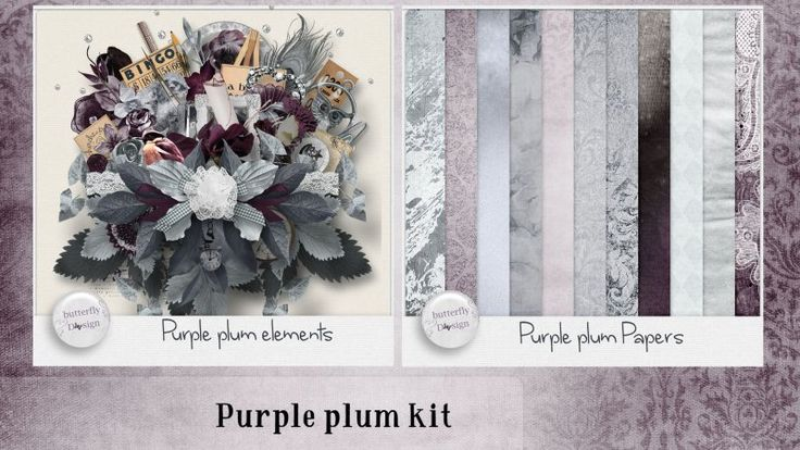Purple Plum [Page kit] by butterflyDsign