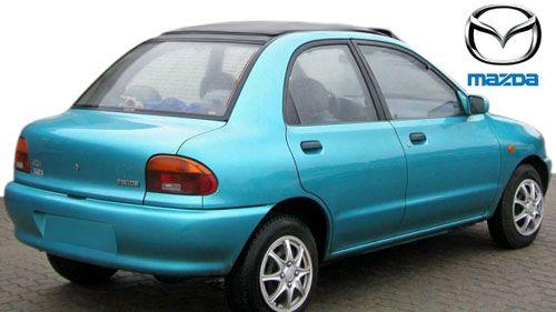 Mazda 121 soft top