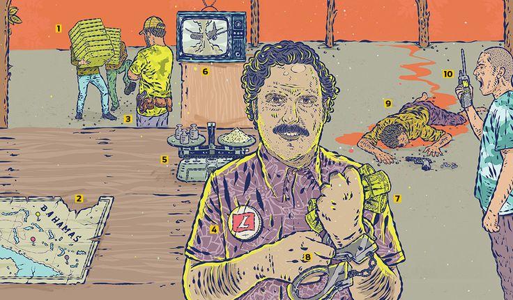 Pablo Escobar, o rei bilionário do tráfico de cocaína