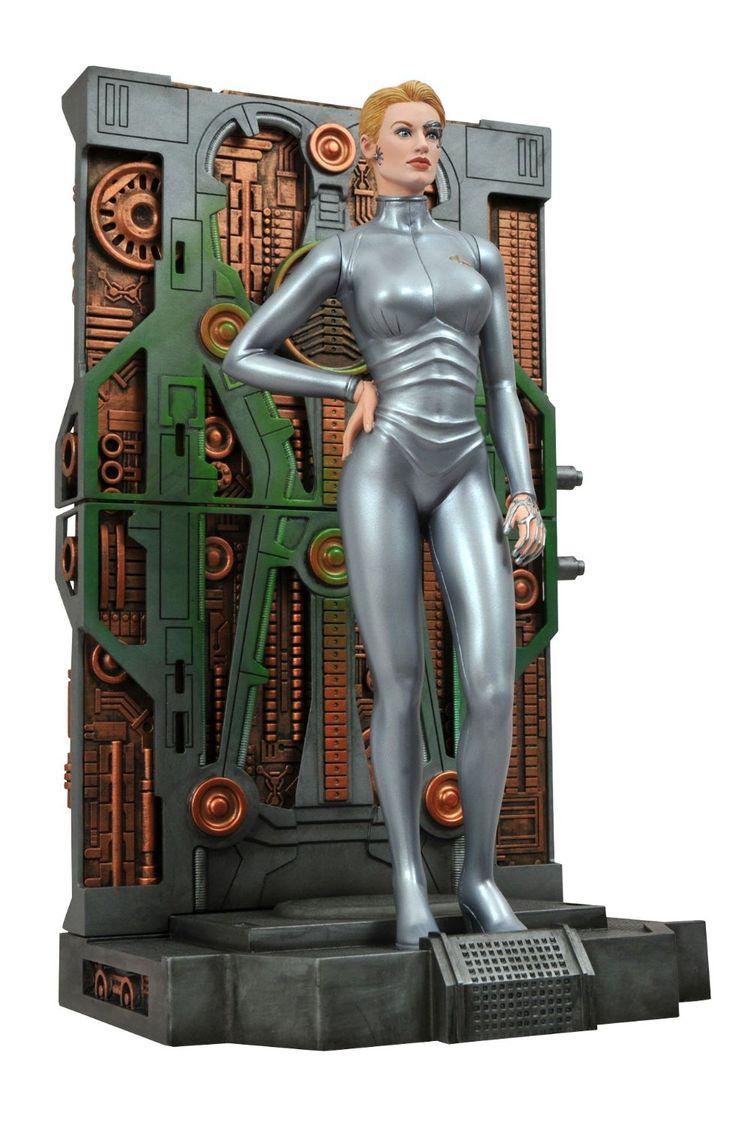 Amazon | DC17867 スタートレック:ヴォイジャー セブン・オブ・ナイン フィギュア | フィギュア・ドール 通販