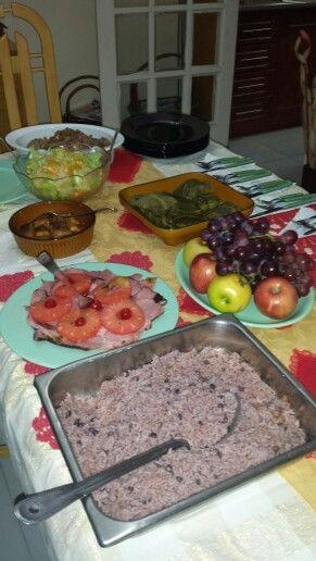 Comida Tipica Panama ¡Hum una mesa rica para disfrutar con las amigas!