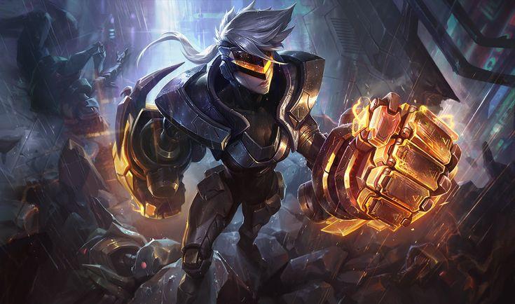 League of legends - Project Vi