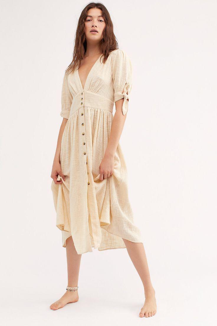 Liebe meines Lebens Midi-Kleid - Sommer Mode Ideen  Vestidos
