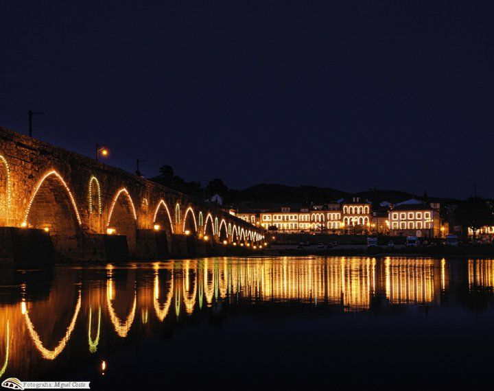 Iluminação de Natal em Ponte de Lima, Portugal