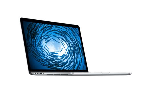 13-inch: 2.6GHz with Retina display  Specifications: 2.6GHz dual-core Intel Core i5 Turbo Boost up to 3.1GHz 8GB 1600MHz memory 256GB PCIe-based flash storage1 Intel Iris Graphics Built-in battery (9 hours)