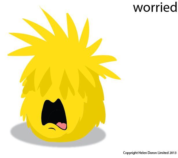 worried Flupe