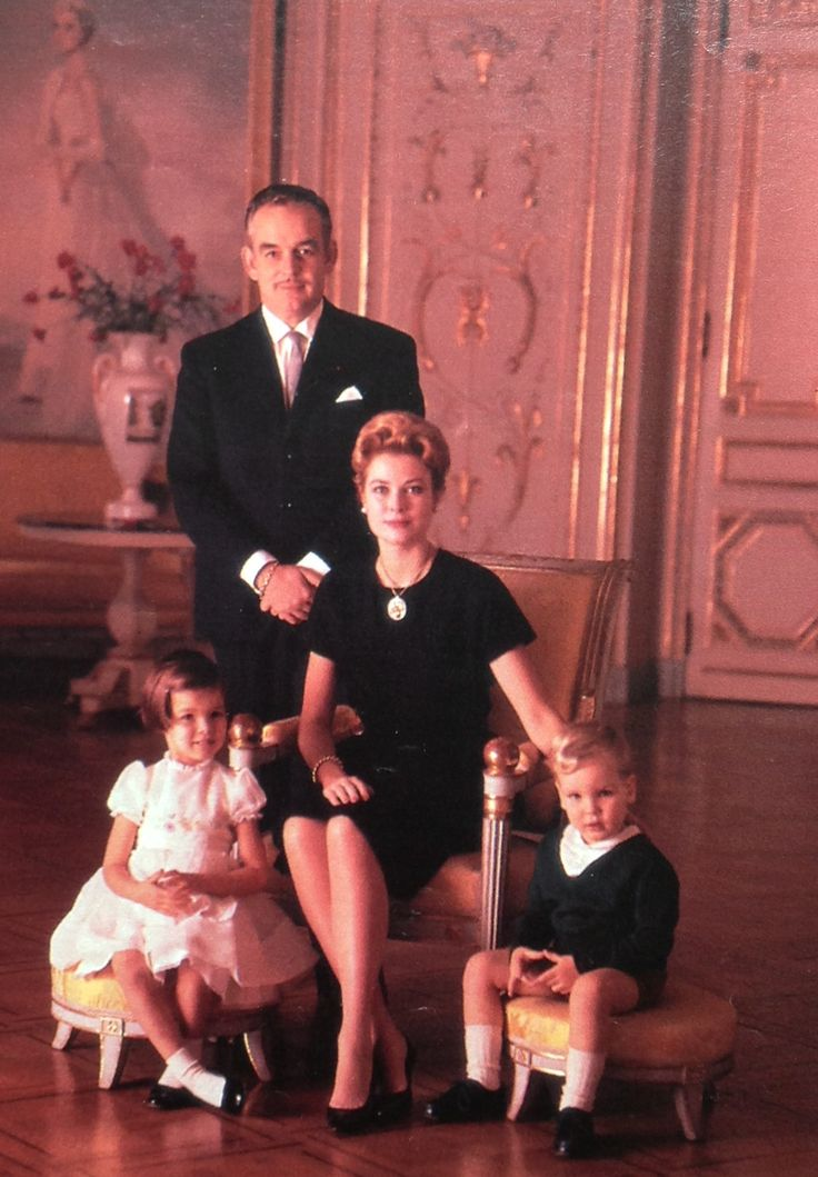 Monaco royal family 1961