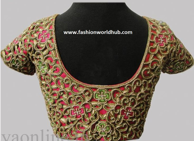 When you think of embroidered blouse go for little different and ethnic look and if you have already tried the other aari work or maggam work design like floral, animal motif designs, bird design and looking for a different look with a classic touch then you should definitely go with cut work blouse. Cut work blouses are little tedious process and huge time is involved when compare to the other maggam work blouses. Cut work involves in cutting the fabric in to different shapes as per the…