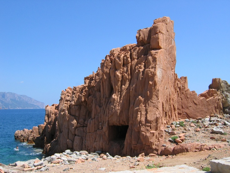 De rode rotsen van Arbatax #Sardinie