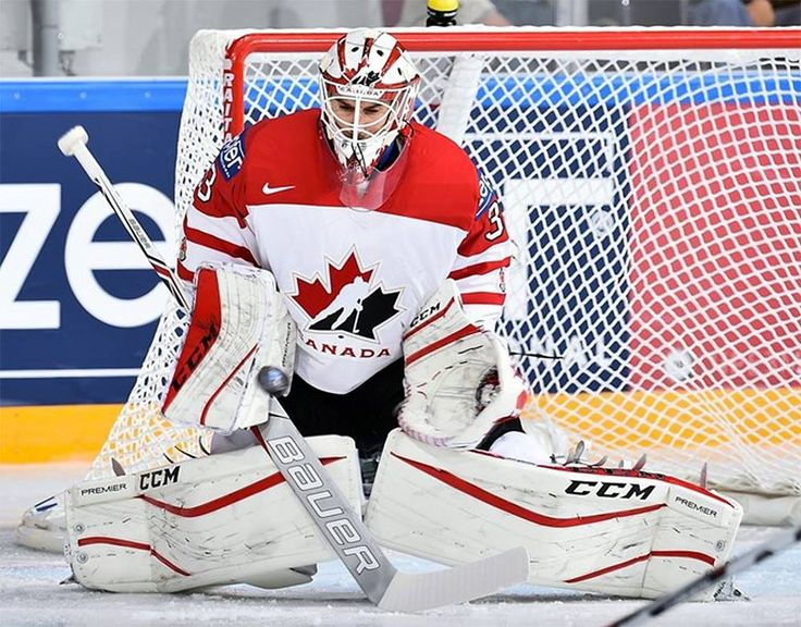 Cam Talbot at the Worlds.  Two games two shutouts.
