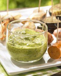 Recept » Colruyt Culinair (dipsaus met waterkers)