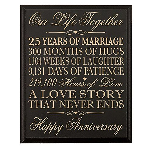 12 Year Wedding Anniversary Gifts For Him : Anniversary Gifts for Her25th Wedding Anniversary Gifts for Him 12 ...