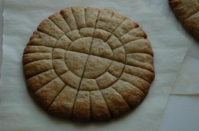 Unleavened Communion Bread. This is what we have been using at our new Encounter Worship Service.