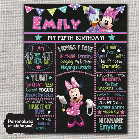 Minnie Mouse Birthday signMinnieMinnie's Bowtique by DIYpartyprint