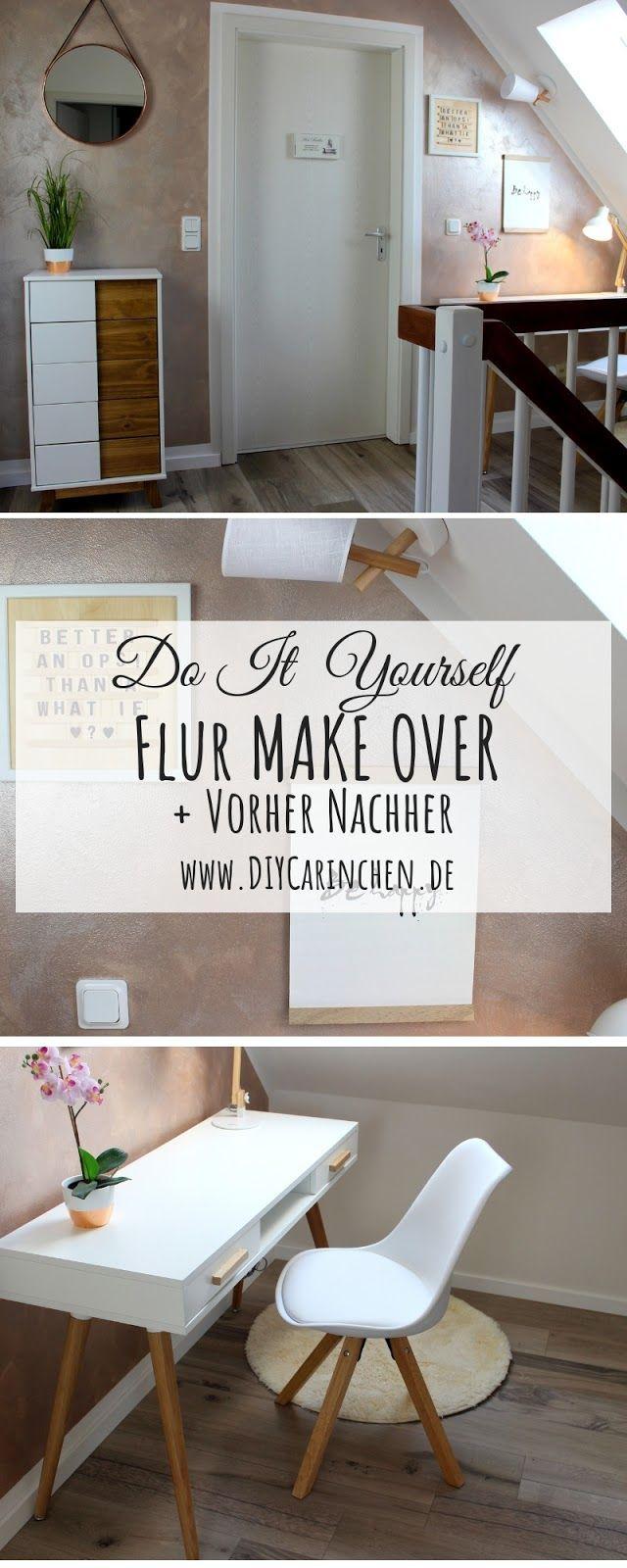 Diy Flur Make Over Inklusive Vorher Nachher Streich Tipps Vorhange Wohnzimmer Wohnen Coole Vorhange