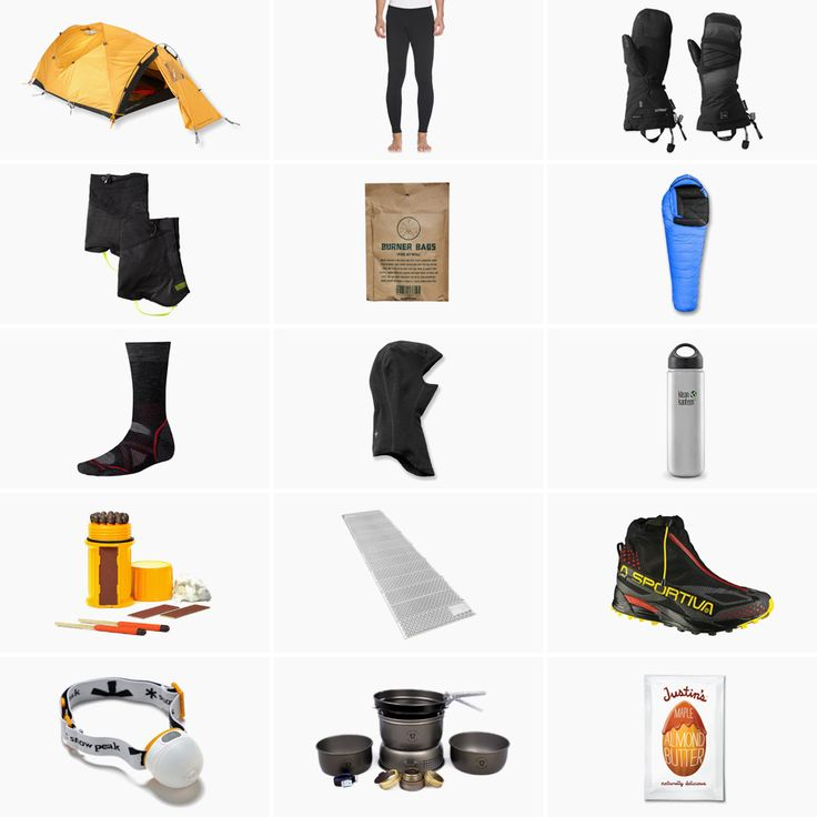 223 Best Camping Gear Kits Images On Pinterest