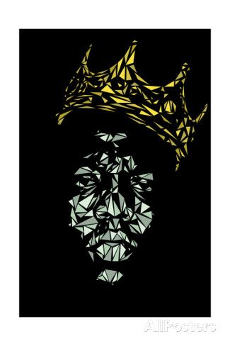 Notorious Big Print by Cristian Mielu - AllPosters.co.uk