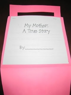Mother's Day writing: Mothers S Father, Mothers Day Gifts, Gifts Ideas, Mothers Day Ideas, Mothers Father, Book, Mother Day Gifts, Kindergarten, Mothers Day Crafts