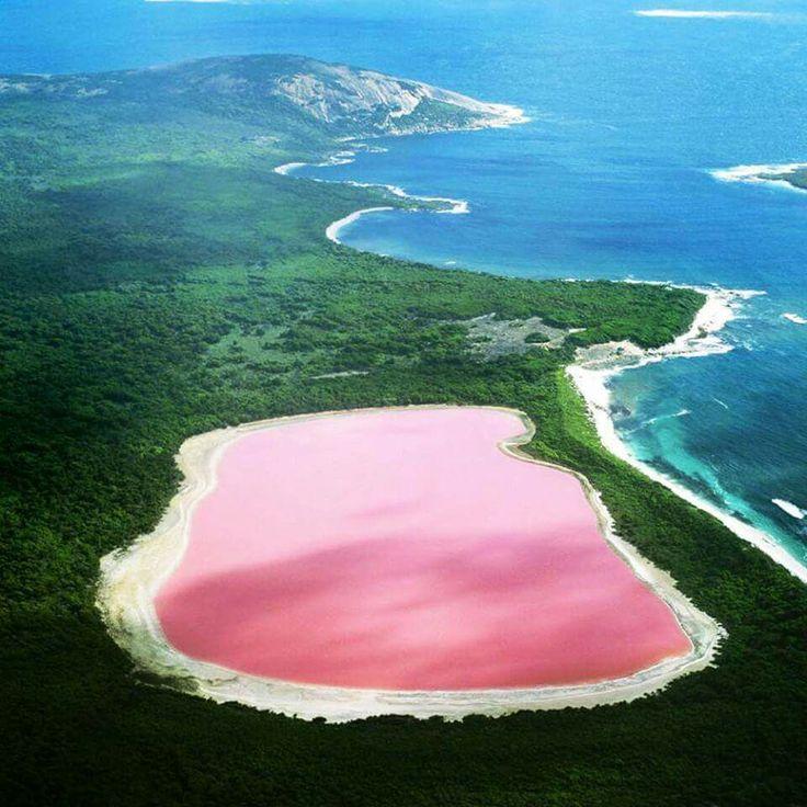 Il Lago Rosa, Australia