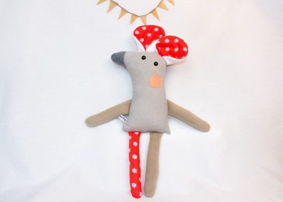 "Doris the Mouse Softie 21"" tall"