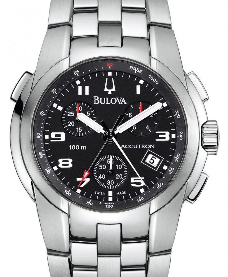 Bulova | Accutron | Edelstahl | Uhren-Datenbank watchtime.net