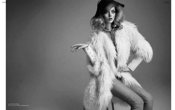 Ana | Anastazja Niementowska | Lukasz Pukowiec #photography | Blanche Magazine