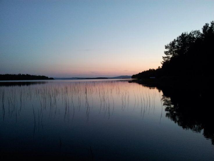 Lake near Ruka