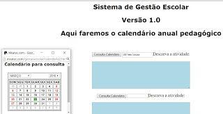 EXCEL FACIL IDEAS AND SOLUTIONS: HTML5, CALENDARIO PEDAGÓGICO, CONTROLE DE AULAS, C...
