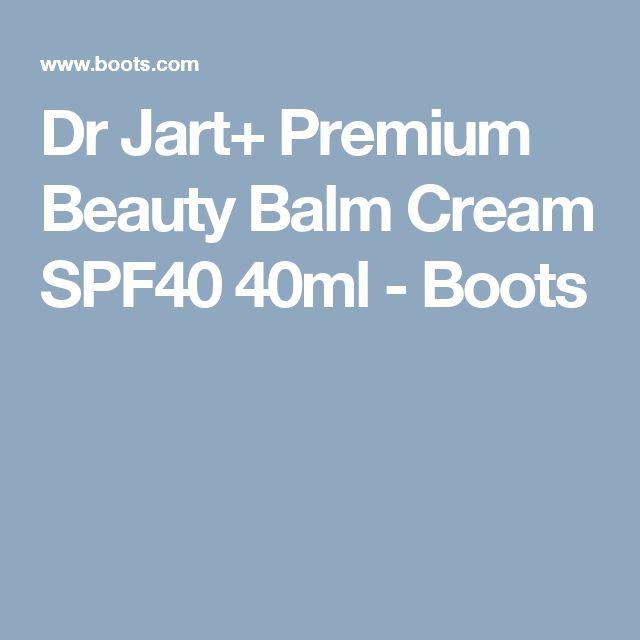 Dr Jart+ Premium Beauty Balm Cream SPF40 40ml - Boots