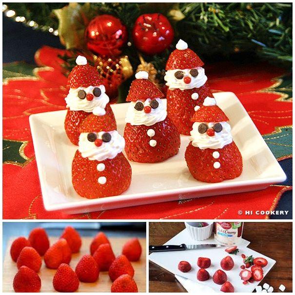Best 25 Strawberry Santas Ideas On Pinterest Christmas