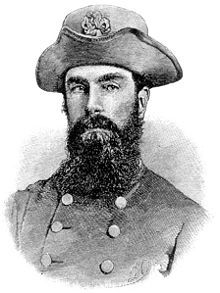 Confederate Brigadier General Maxcy Gregg was killed December 15th 1862 during the Battle of Fredericksburg.