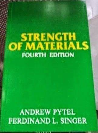 Download Strength of Materials by Andrew Pytel and Ferdinand L. Singer for Free | Civil Engineering Blog