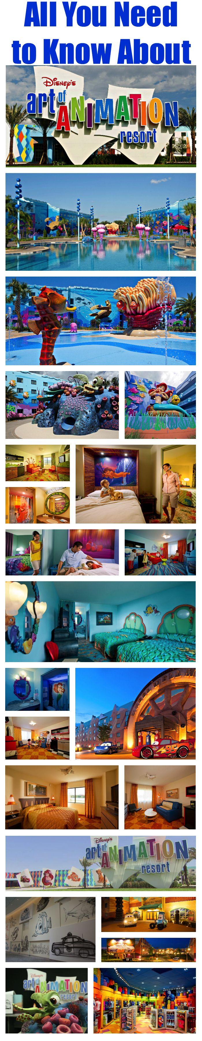Disney's Art of Animation Resort Collage