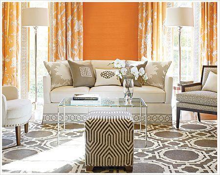 Die 55 besten Bilder zu INTERIORS bright spring auf Pinterest PiP - Wohnzimmer Grau Orange