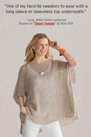 «Накидка свитер» Эми Брилл