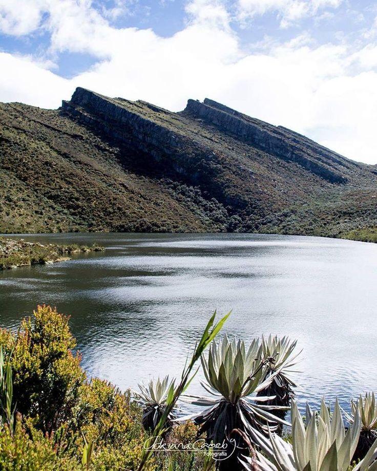 Lagunas de Siecha. Cundinamarca , COLOMBIA