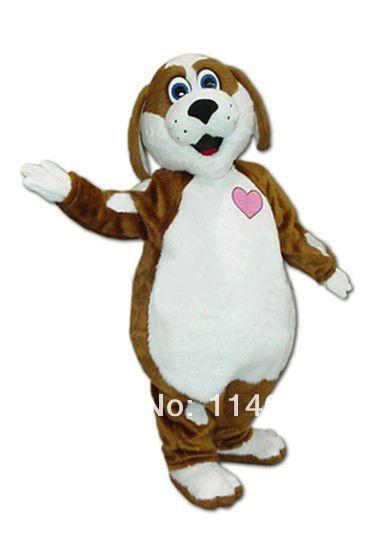 No. 1 талисман Новый стиль PENNIE щенок белый и собака талисман взрослых мультфильма Mascote экипировка костюм карнавальный костюм