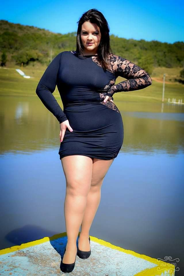 Luiza Andrade Plus Size Model Amp Curvy Pinterest My