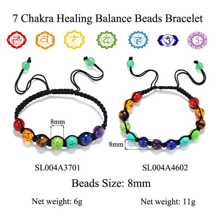 Natural-Stone-amethyst-Tiger-Eye-Beads-Braided-Rope-Reiki-Bracelet-7-Chakra