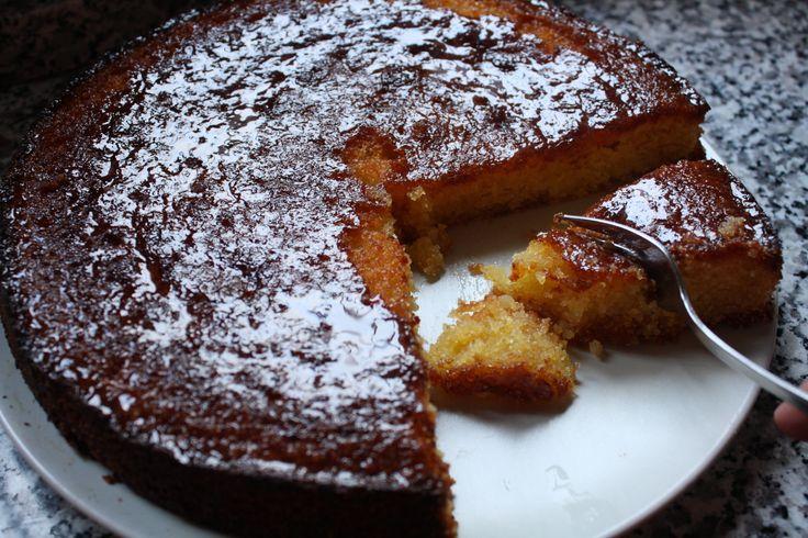 Torta Lemon Polenta - Lemon polenta cake