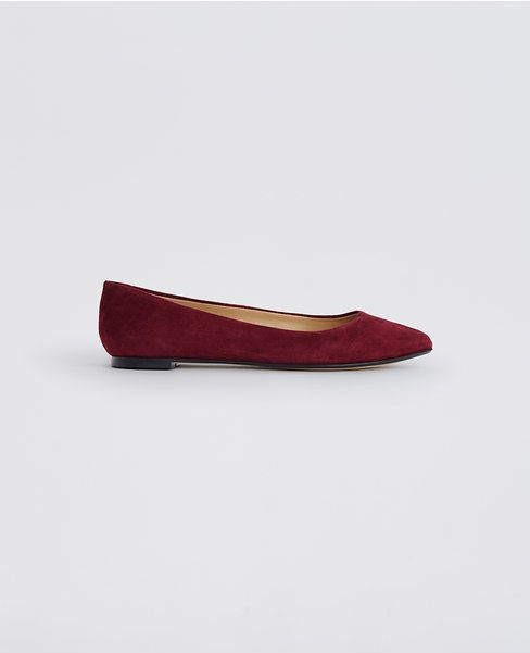 Primary Image of Dawn Suede Pointy Flats